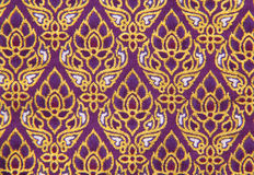 Pattern Of Thailand Native Cloths Royalty Free Stock Image
