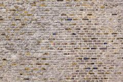 Pattern of an old brick wall Royalty Free Stock Photo