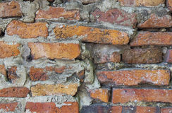 Pattern of old brick wall texture Stock Photography