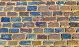 Pattern of old cobble stone street Royalty Free Stock Image