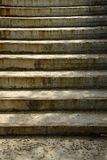 Pattern of old concrete stairs Royalty Free Stock Images