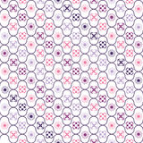 Pattern old-fashioned. With different motifs vector illustration