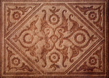 Pattern on old leather cover Stock Image
