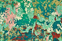 Pattern of old painted surface Stock Images