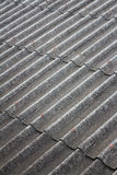 Pattern of old roof Royalty Free Stock Photography
