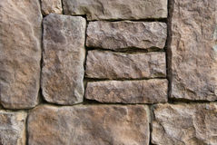 Pattern of old stone Wall Royalty Free Stock Images