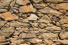 Pattern of Old Stone Wall Surface Stock Image