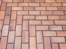 The pattern of the old tiles floor. Royalty Free Stock Photos