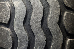 Pattern of old tires Stock Photo