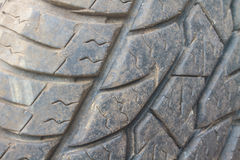 Pattern of old tires textures Stock Photo