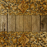Pattern old wood background Royalty Free Stock Photo