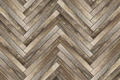Pattern of old wood tiles. Forming parquet floor Stock Images