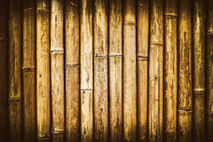 Pattern of old wooden bamboo branches Stock Photography