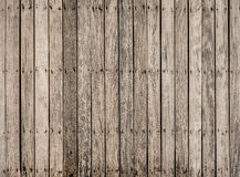 Pattern of  old wooden  bridge floor Royalty Free Stock Image