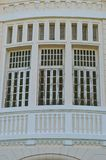 Pattern of old wooden windows Stock Photo