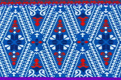 Pattern On The Fabric Of The Sarong Stock Image