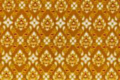 Pattern On The Thai Cloth Stock Photo