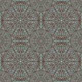 Pattern with openwork circles Stock Image
