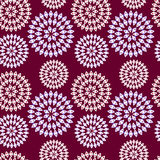 Pattern of openwork flowers Royalty Free Stock Images