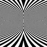 Pattern With Optical Illusion. Abstract Background. Optical Art. Stock Photography