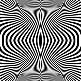 Pattern With Optical Illusion. Abstract Background. Optical Art. 3d Vector Illustration Royalty Free Stock Images
