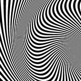 Pattern with optical illusion Stock Photo