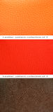 Pattern orange, red and brown leather Royalty Free Stock Photography