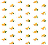 Pattern with oranges Royalty Free Stock Image
