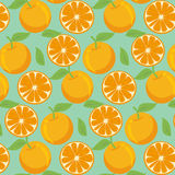 Pattern with oranges. Vector EPS of pattern with oranges Stock Image