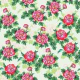 Pattern016 oriental Imagem de Stock Royalty Free