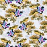 Pattern021 oriental Foto de Stock Royalty Free
