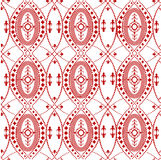 Pattern ornament. Ornament with delicate patterns - red color Stock Photo