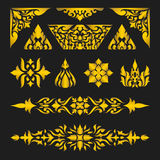 Pattern ornament Royalty Free Stock Image