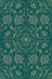 Green floral pattern. Royalty Free Stock Image