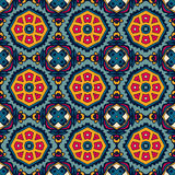 Pattern ornamental Geometric print. Festive Colorful seamless vector pattern ornamental. Geometric print Stock Photos
