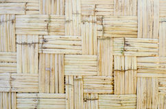 Pattern of orthogonal strips made of reeds for green architectur Stock Images