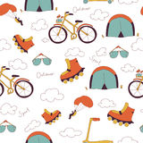 Pattern - outdoors sport Stock Photography