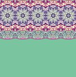 Pattern for paisley. Royalty Free Stock Photos