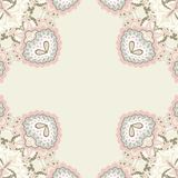 Pattern for paisley. Royalty Free Stock Images