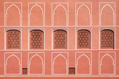 Pattern on the palace, Jaipur Stock Images
