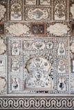 Pattern on the palace, Jaipur Stock Photos