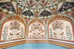 Pattern on the palace, Jaipur Royalty Free Stock Photo