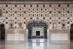 Pattern on the palace, Jaipur. Beautiful pattern on the palace wall, Jaipur, India Royalty Free Stock Photo