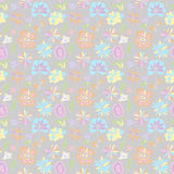 Pattern of pastel colors on a gray background Royalty Free Stock Images