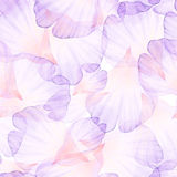 Pattern with pastel pink roses royalty free stock photos