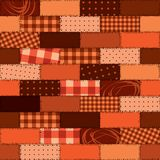 Pattern patchwork Royalty Free Stock Image