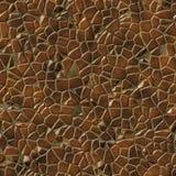 Pattern of paved way Royalty Free Stock Photo