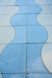 Pattern in a pavement Royalty Free Stock Photos