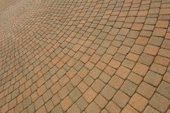 Pattern of Pavers Royalty Free Stock Photography