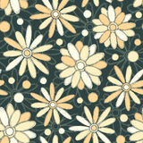 Pattern in pencil drawing style Royalty Free Stock Photos